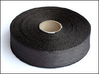 Carbon fiber plain tape - 25mm wide